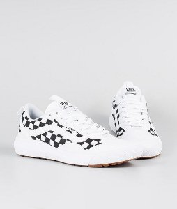 Tênis Vans Ultrarange Exo - True White/Black Checkerboard