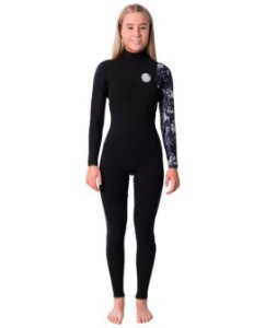 Long John  Rip Curl G-BOMB 3.2mm Zip Free - Black/White