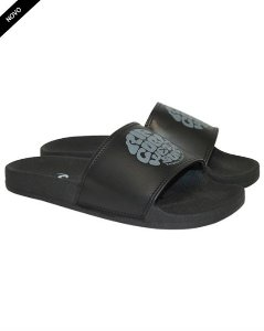 Chinelo Rip Curl ROUND LOGO S - Black