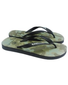 Chinelo Rip Curl Masculino MILITARY - Black