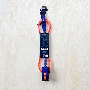 Leash FCS 6' Comp Essential - Laranja