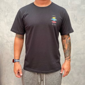 Camiseta Rip Curl Search Logo Black