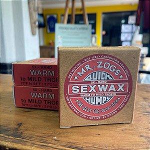 Parafina Sexwax Warm - Vermelha