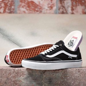 Tênis Vans Old Skool Pro - Black/White