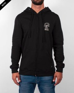 Moletom Rip Curl Search Front Back Flees