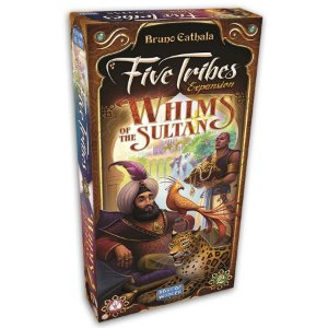 Expansão Five Tribes - Whims of the Sultan