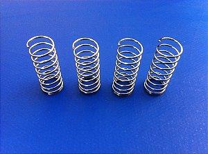 Conjunto de molas anti-folga do eixo Z para impressoras 3D Prusa Mendel, Prusa Air e Maq3D