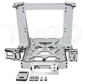 Estrutura Completa Impressora 3d Graber I3 branco