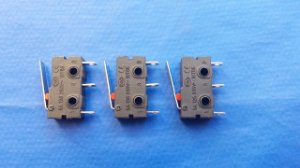 Chave Fim De Curso / End Stop Micro Switch - Tec3D