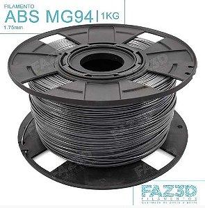 Filamento ABS MG94 (Premium) 1.75mm Preto - 1Kg