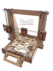 Estrutura Impressora 3d Graber I3 Com Eixos + Brinde