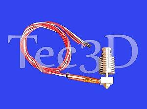 Bico Hotend P/ Impressoras 3d / Reprap/prusa/mendel + Brinde