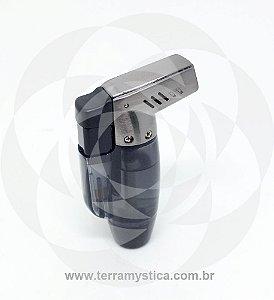 ISQUEIRO MAÇARICO HONEST REF. 304 - 02 Chamas :: Fumê