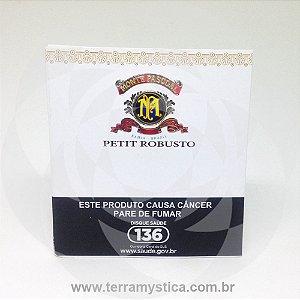 CHARUTO MONTE PASCOAL - PETIT ROBUSTOS - PTC c/ 5un