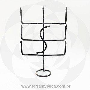 FERRAMENTA EXU MEIA NOITE - 35 cm