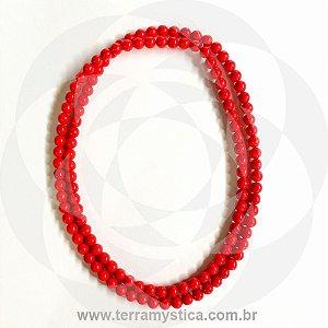 GUIA DE PORCELANA - VERMELHO