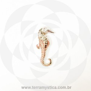 CAVALO MARINHO - Pingente Aço