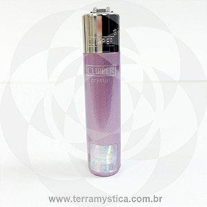 Isqueiro Clipper Cristal - Lilás