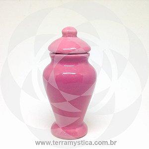 QUARTINHA DE LOUÇA ROSA - 13 cm sem alça