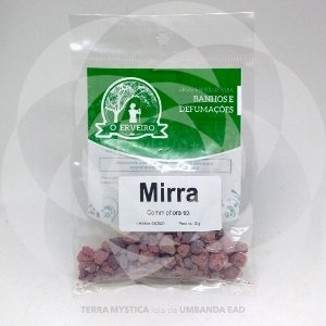 RESINA - MIRRA  - O ERVEIRO