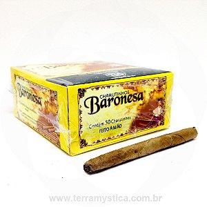 CIGARRILHA BARONESA - Tradicional :: Sem Piteira :: 50 UNIDADES