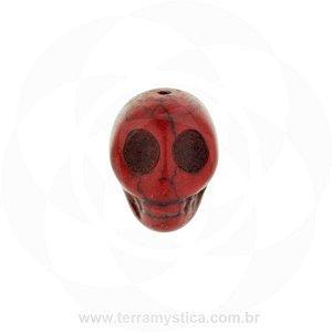 FIRMA ESPECIAL DE RESINA - Caveira Vermelha