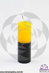 VELA 7 DIAS - Amarela e Preto