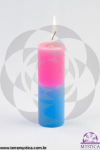 VELA 7 DIAS - Rosa e Azul