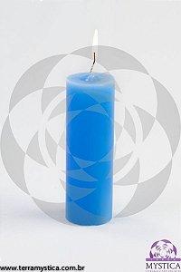 VELA 7 DIAS - Aromática - Alfazema - Azul Claro