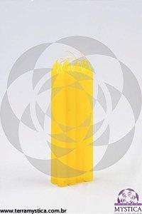 VELA PALITO - Amarela I Maço com 8 un.