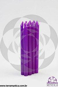 VELA PALITO - Violeta I Maço com 8 un.