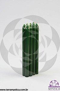 VELA PALITO - Verde I Maço com 8 un.