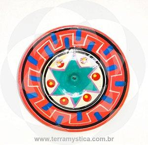 INCENSARIO DE CERAMICA - ROSA