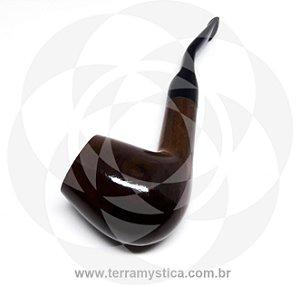 CACHIMBO ELITE II - Madeira marrom curvo