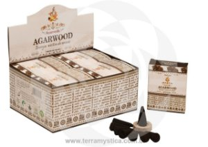 INCENSO AYURVEDIC AGARWOOD CONE