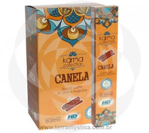 INCENSO INDIANO MASSALA CANELA - KARMA COLLECTION - HARI DARSHAN