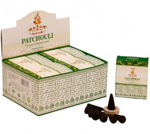 INCENSO INDIANO MASSALA PATCHOULI CONE - GOLOKA