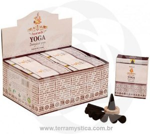 INCENSO AYURVEDIC YOGA CONE
