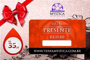 VALE PRESENTE - R$ 35,00 :: Terra Mystica