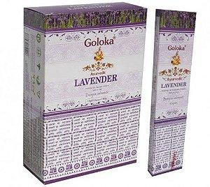 INCENSO INDIANO MASSALA AYURVEDIC LAVANDER - GOLOKA