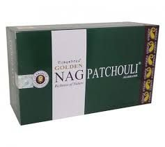 INCENSO INDIANO MASSALA PATCHOULI - Golden Nag Vijayshree