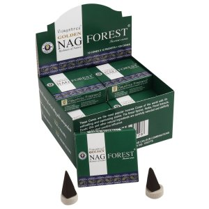 INCENSO INDIANO MASSALA FOREST CONE - Golden Nag Vijayshree