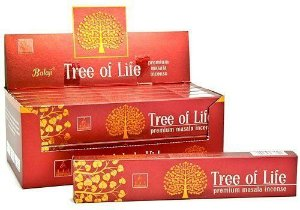 INCENSO INDIANO MASSALA TREE OF LIFE - BALAJI