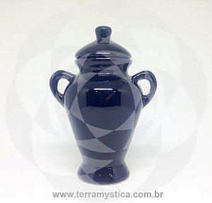 QUARTINHA DE LOUÇA PRETO 15 cm com alça