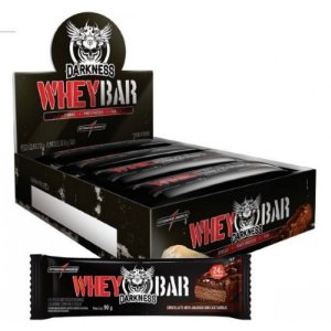 Whey Bar Fix Darkness - Integralmédica - 8 Barras de 90g