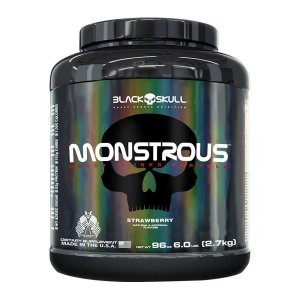 Monstrous Black Skull