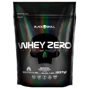 WHEY ZERO BLACK SKULL - REFIL