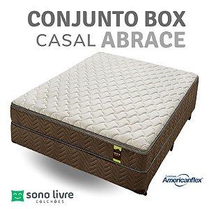 Conjunto Box Casal Abrace Americanflex 138 x 188 x 69