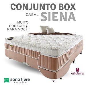 Conjunto Box Casal Siena Estofama 138 x 188
