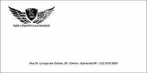 Envelope Oficio - 11x23 cm - 80 grs